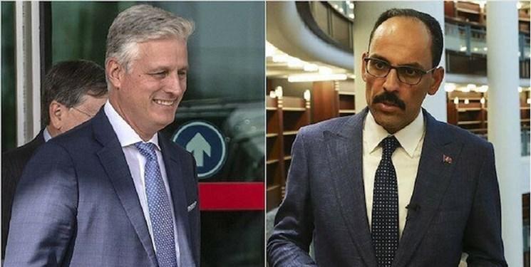 گفت وگوی تلفنی مقامات آمریکا و ترکیه درباره سوریه و لیبی