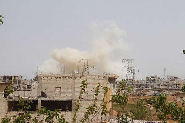 حملات تروریستها به مناطق مسکونی حلب باز هم قربانی گرفت