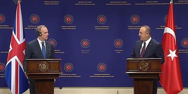 درخواست وزرای خارجه ترکیه و انگلیس برای توقف عملیات در ادلب