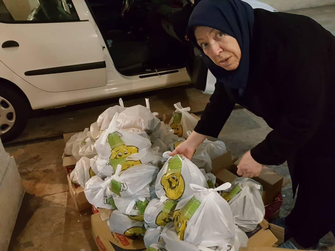 خبرنگاران بانوی نیکوکار البرزی : سهم من امدادگری مادرانه است