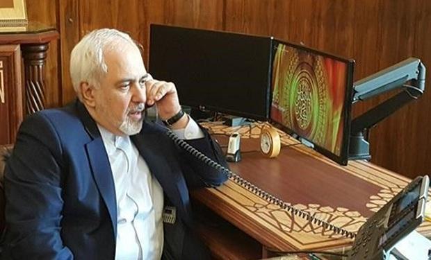 رایزنی تلفنی ظریف و وزیر خارجه گرجستان درباره مناسبات دوجانبه