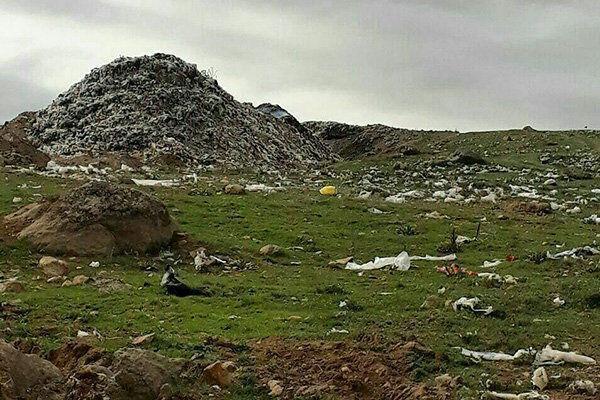 خبرنگاران دفن زباله شهرهای همجوار چالش جدید شهر بناب