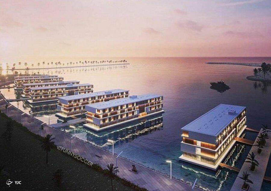 16 هتل شناور در خلیج فارس ، هتل 4 طبقه با نصف قیمت روی دریا برای اسکان مسافران جام جهانی 2022