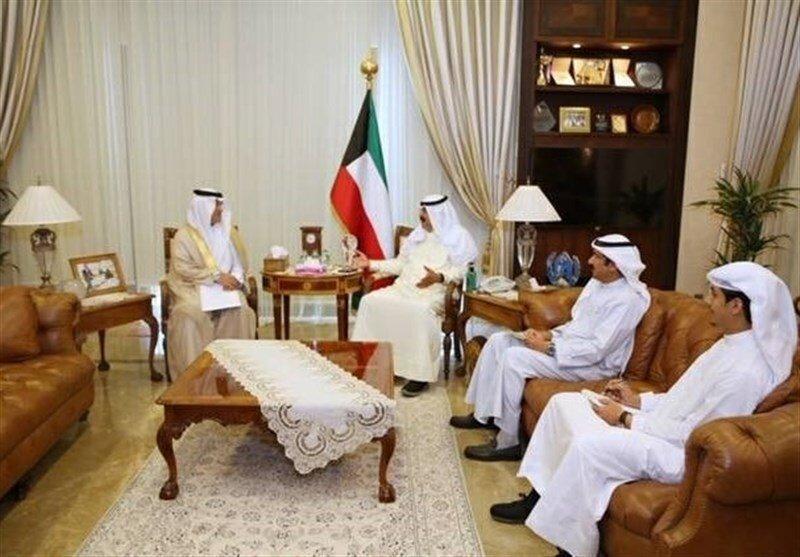 پیغام مکتوب پادشاه عربستان به امیر کویت