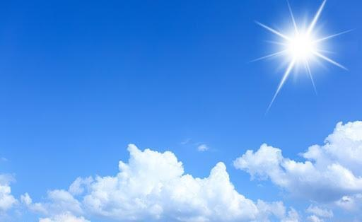 آسمان صاف و نیمه ابری در استان همدان