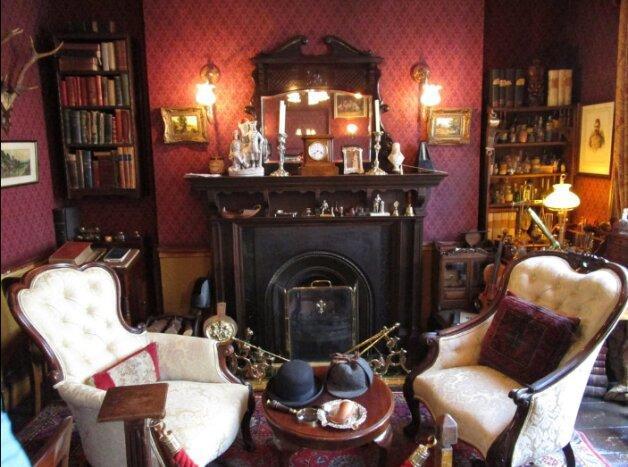 تصاویر ، مشهورترین نشانی دنیا در خیابان بیکر ، تعطیلی خانه شرلوک هلمز در روزگار کرونا