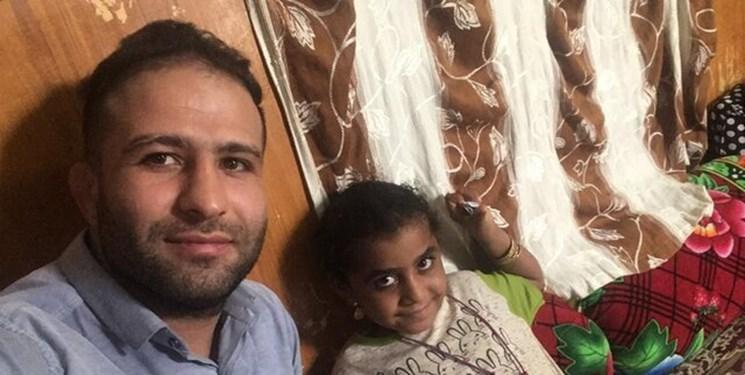 قهرمان کشتی دنیا پیگیر شرایط دختر آسیب دیده سیستانی
