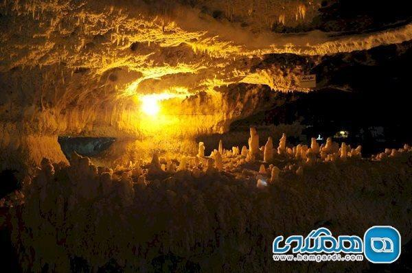 شروع بهسازی و اصلاح پروژه نورپردازی غار کتله خور