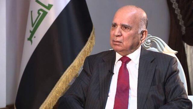وزیرخارجه عراق: بغداد کوشش زیادی برای امنیت الخضراء و فرودگاه بغداد نموده است