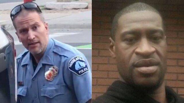 پلیس آمریکایی متهم به قتل جورج فلوید آزاد شد
