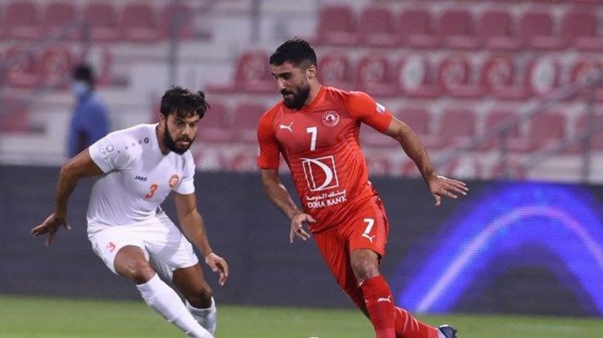 مهرداد محمدی فینال جام امیر قطر را از دست داد
