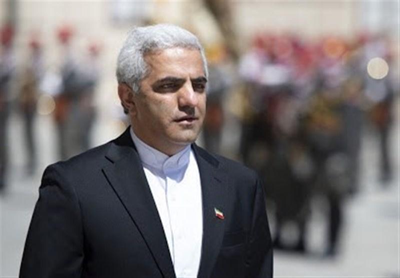 سفیر ایران: تهران همچنان منتظر گام های عملی اروپا در برجام، تحریم های آمریکا تروریسم پزشکی و مالی است