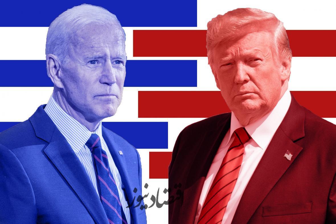 اولین نتایج شمارش آرای انتخابات آمریکا، شرایط ترامپ و بایدن در ایالات کلیدی
