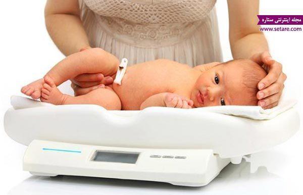 وزن نوزاد و نکات مربوط به آن