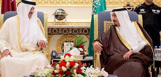 پیغام شفاهی پادشاه عربستان به امیر قطر خبرنگاران