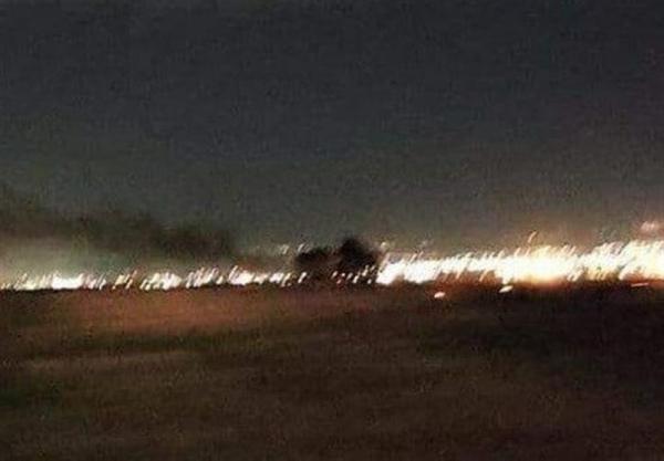 وقوع 3 انفجار در نزدیکی فرودگاه بین المللی اربیل، پایگاه نظامیان آمریکایی هدف حمله قرار گرفت