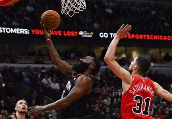 لیگ NBA، پیروزی نتس در لس آنجلس با درخشش هاردن، ساکرامنتو مغلوب میلواکی شد