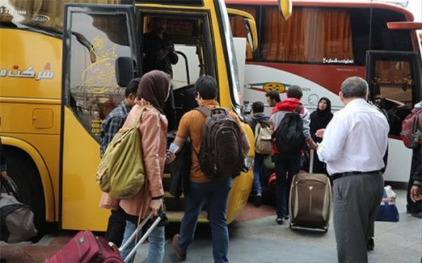 اعلام شرایط سفر به شهرهای قرمز با اتوبوس و هواپیما