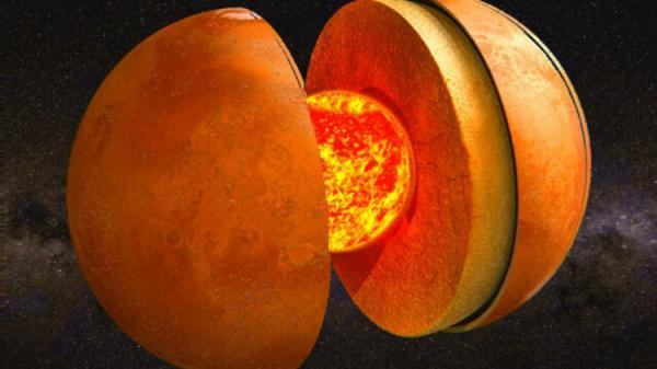 اندازه هسته مریخ در اتفاقی ناگهانی کشف شد!