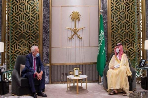 فرستاده نخست وزیر انگلیس با محمد بن سلمان ملاقات کرد