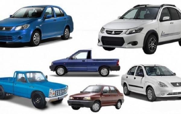 قیمت انواع خودرو های سایپا، پراید و تیبا اول اردیبهشت 1400