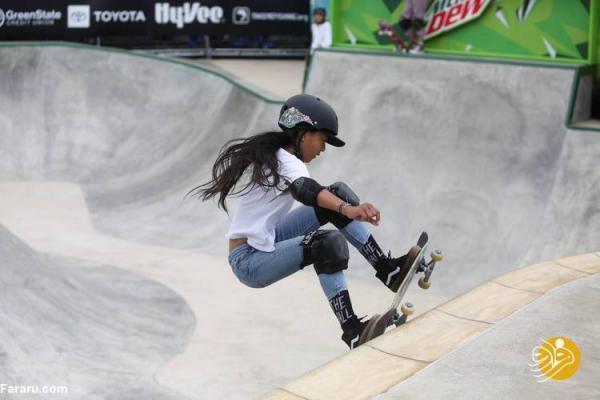 کسب سهمیه یک دختر 12 ساله برای المپیک توکیو