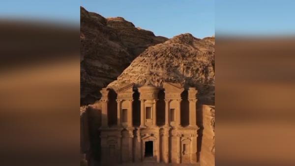 شهر پترا در اردن، یکی از عجایب هفتگانه جهان