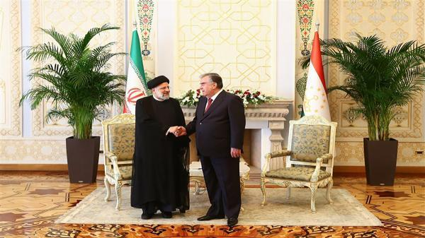 ضیافت ناهار رئیس جمهور تاجیکستان به افتخار رئیسی