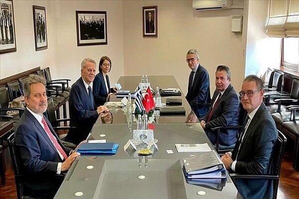 تور یونان: شصت و سومین دور از مذاکرات مشورتی ترکیه و یونان انتها یافت